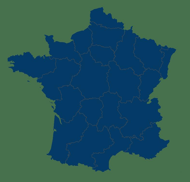 Carte France EN